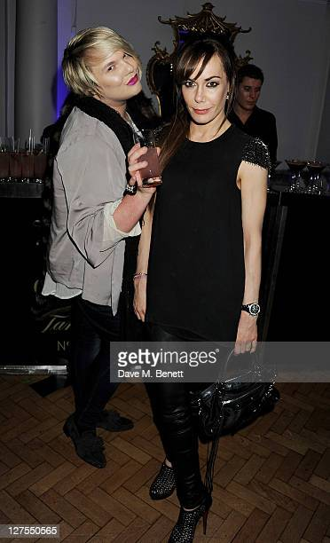 Jackie Saunderdock and Tara Palmer Tomkinson attend the Quintessentially Awards 2011 at One Marylebone on September 28 2011 in London England