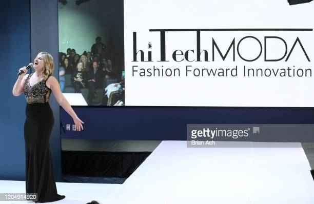 Jackie Schiffer performs onstage during NYFW Powered By hiTechMODA on February 08 2020 in New York City