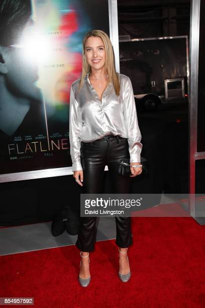 Jackie Schimmel attends the premiere of Columbia Pictures' 'Flatliners' at The Theatre at Ace Hotel on September 27 2017 in Los Angeles California