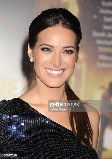 """Jackie Seiden attends the Los Angeles premiere of """"New Year's Eve"""" at Grauman's Chinese Theatre on December 5, 2011 in Hollywood, California."""