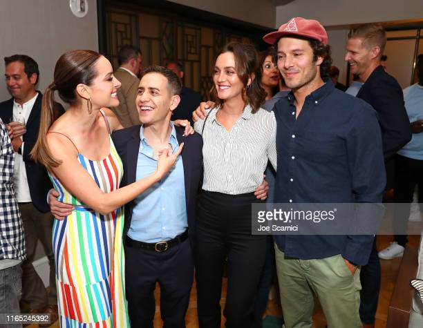 Jackie Seiden Director Jason Winer Leighton Meester and Adam Brody attend the Premiere Event for the film Ode To Joy in select theaters and VOD...