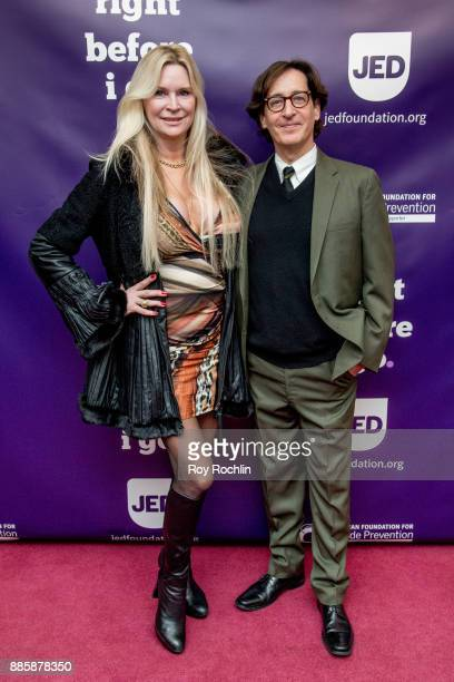 Jackie Siegel and Stan Zimmerman attends the 'Right Before I Go' Benefit performance at Town Hall on December 4 2017 in New York City