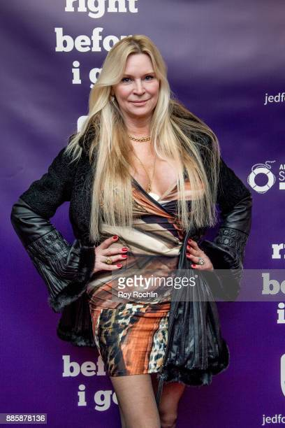 Jackie Siegel attends the 'Right Before I Go' Benefit performance at Town Hall on December 4 2017 in New York City
