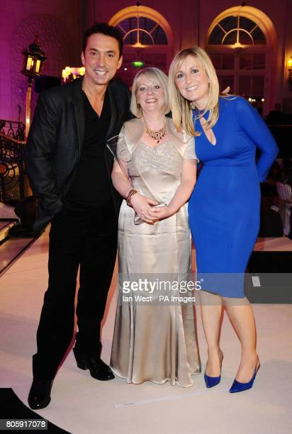Jackie Smith from Liverpool after she won the Real Radio Mum of the Year Award presented by Bruno Tonioli and Fiona Phillips at the Tesco Magazine...