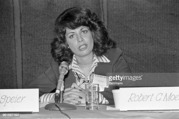 Jackie Speier legal counsel to the late Representative Leo Ryan tells her opinion about religious cults at the State Bar Convention Mrs Speier who...