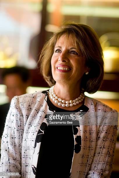 Jackie Speier who is running for Congress poses for portrait in San Francisco California April 3 2008 Twentynine years ago Speier fell short in a bid...