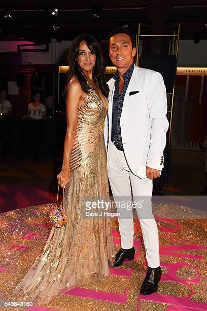 Jackie St Clair and Bruno Tonioli attend the after party of the world premiere of Absolutely Fabulous The Movie at Liberty on June 29 2016 in London...