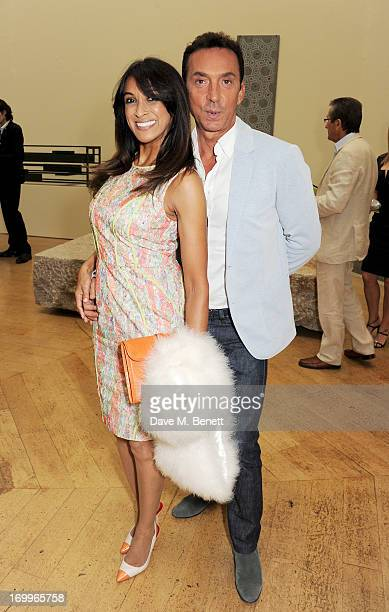 Jackie St Clair and Bruno Tonioli attend the preview party for The Royal Academy Of Arts Summer Exhibition 2013 at Royal Academy of Arts on June 5...