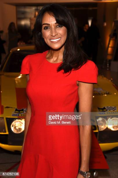 Jackie St Clair attends a private view of the 'Ferrari Under The Skin' exhibition hosted by Deyan Sudjic and Alice Black Directors of the Designb...