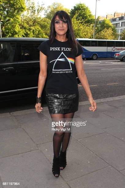Jackie St Clair attends Pink Floyd Their Mortal Remains private view held at Victoria and Albert Museum on May 9 2017 in London England