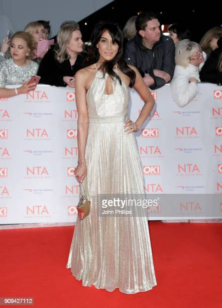 Jackie St Clair attends the National Television Awards 2018 at the O2 Arena on January 23 2018 in London England