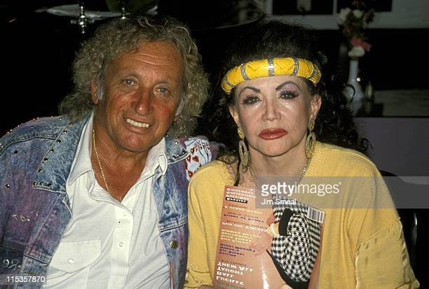 Jackie Stallone And during Joe Franklin's Party for Nostalgia Magazine August 16 1990 at Ciros Pomodoro in West Hollywood California United States