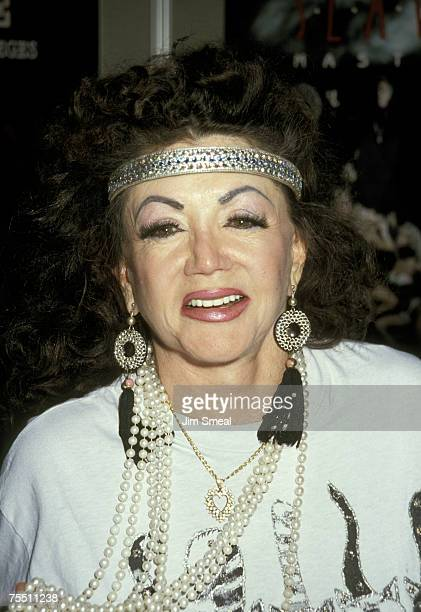 Jackie Stallone at the Las Vegas Convention Center in Las Vegas California