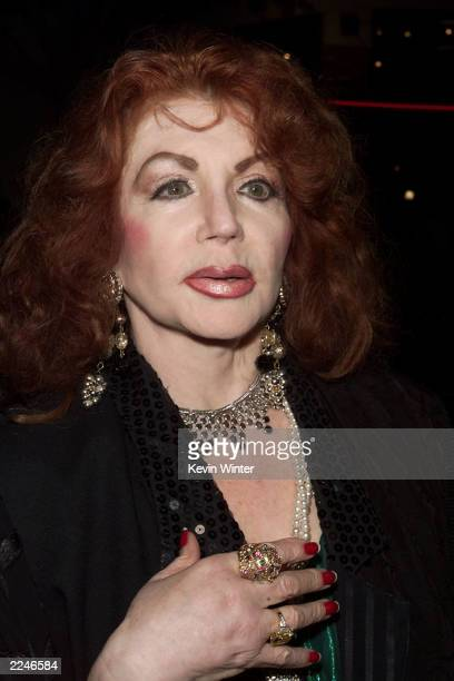 Jackie Stallone at the premiere of 'Get Carter' at the Bruin Theater, Westwood, Ca. 10/4/00. Photo by Kevin Winter/ImageDirect.