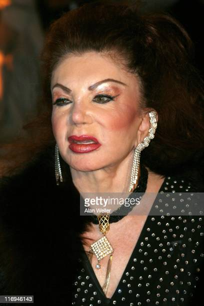 Jackie Stallone during 2005 British Comedy Awards Arrivals at London Television Studios in London Great Britain