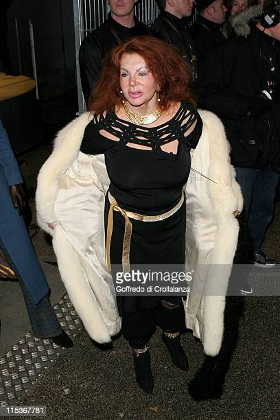 Jackie Stallone during Celebrity Big Brother 2 First Eviction at Elmstree Studios in London England Great Britain