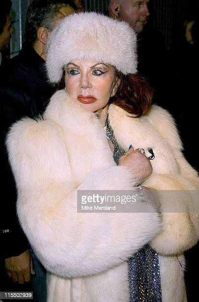 Jackie Stallone during Celebrity Big Brother III UK Grand Finale at Elstree Studios in London Great Britain