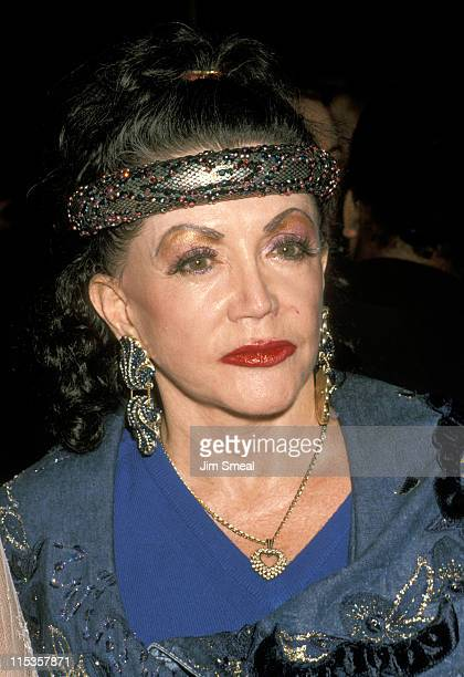 Jackie Stallone during It Had To Be You Los Angeles Premiere at Samuel Goldwyn Theater in Beverly Hills California United States