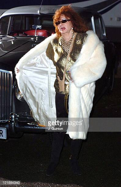 Jackie Stallone during Jackie Stallone as the Secret Guest Joins Celebrity Big Brother at Elstree Studios in London England Great Britain