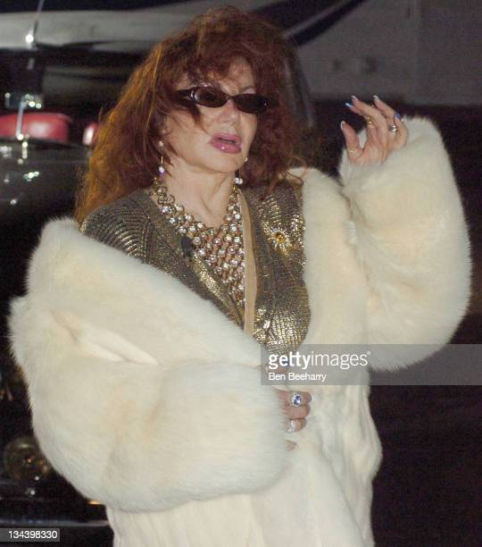 Jackie Stallone during Jackie Stallone as the Secret Guest Joins Celebrity Big Brother at Elstree Studios in London Great Britain