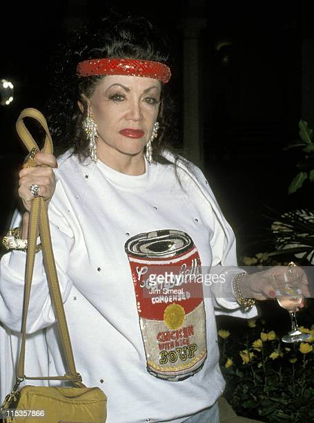 Jackie Stallone during Jim Bailey's Benefit Gay Lesbian Adolescent Social Services May 23 1990 at Hollywood Roosevelt Cinegrill in Hollywood...