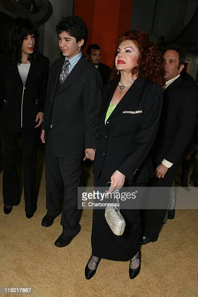 Jackie Stallone during MGM Pictures Columbia Pictures and Revolution Studios present the World Premiere of 'Rocky Balboa' at Grauman's Chinese...
