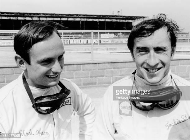 Jackie Stewart and Chris Amon 1967 Scottish motor racing driver Jackie Stewart began his Formula 1 career in 1965 winning the Italian Grand Prix in...