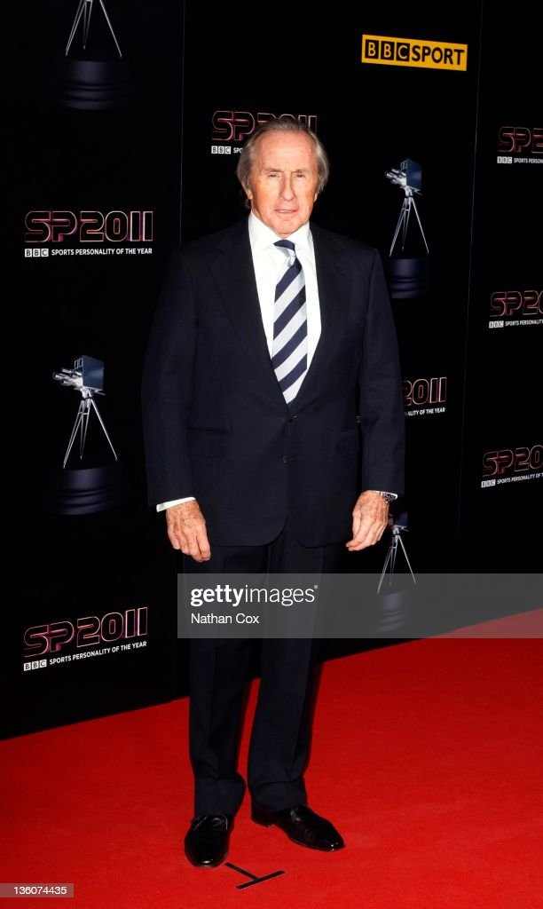 Jackie Stewart attends the awards ceremony for BBC Sports Personality of the Year 2011 at Media City UK on December 22, 2011 in Manchester, England.