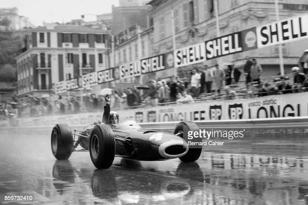 Jackie Stewart BRM P261 Grand Prix of Monaco Circuit de Monaco May 30 1965