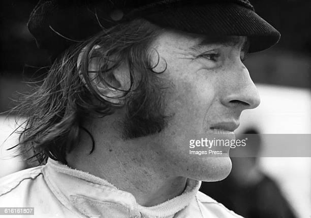 Jackie Stewart circa 1974 in Watkins Glen New York