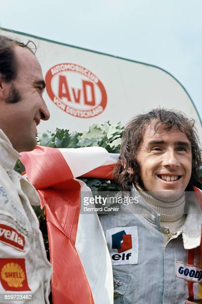 Jackie Stewart Clay Regazzoni Grand Prix of Germany Nurburgring August 1 1971
