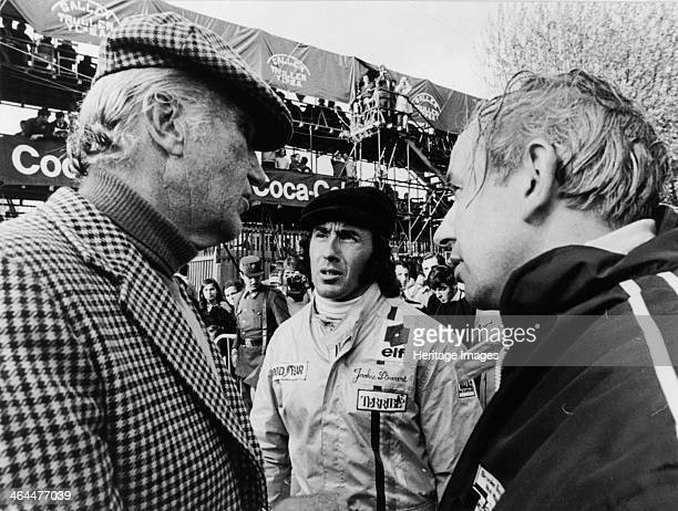 Jackie Stewart early 1970s Scottish motor racing driver Jackie Stewart began his Formula 1 career in 1965 winning the Italian Grand Prix in his debut...