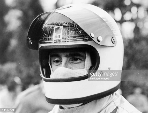 Jackie Stewart early 1970s Seen here wearing his distinctive tartanpatterned racing helmet Scottish motor racing driver Jackie Stewart began his...