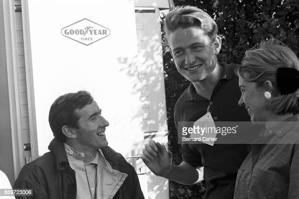 Jackie Stewart Eric della Faille Joan Cahier French Grand Prix Formula 3 Support race RouenLesEssarts June 28 1964