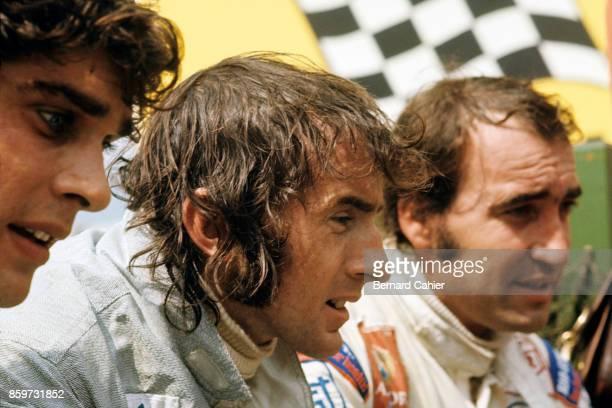 Jackie Stewart Francois Cevert Clay Regazzoni Grand Prix of Germany Nurburgring August 1 1971