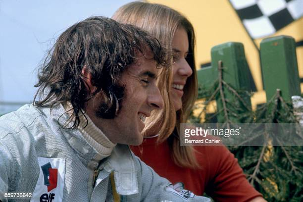 Jackie Stewart Helen Stewart Grand Prix of Germany Nurburgring August 1 1971