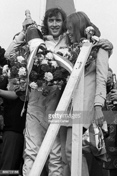 Jackie Stewart Helen Stewart Grand Prix of the Netherlands Circuit Park Zandvoort June 21 1969