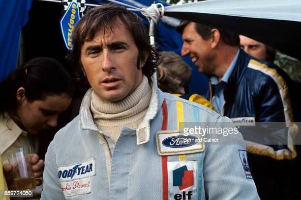 Jackie Stewart Ken Tyrrell Grand Prix of France Charade Circuit July 2 1972