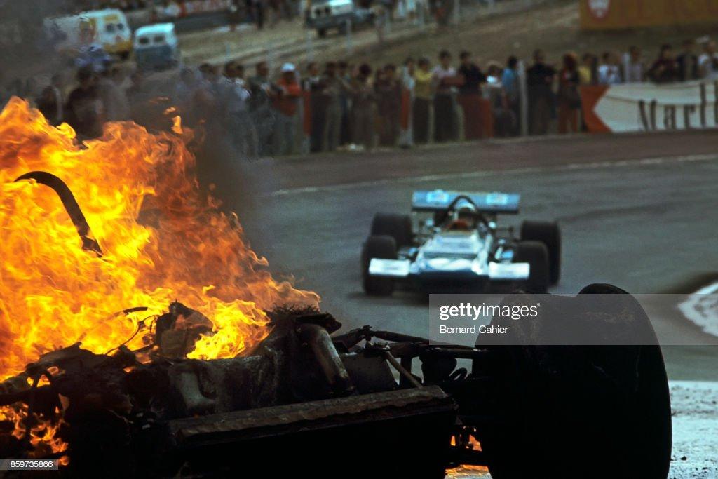 Jackie Stewart At Grand Prix Of Spain : News Photo