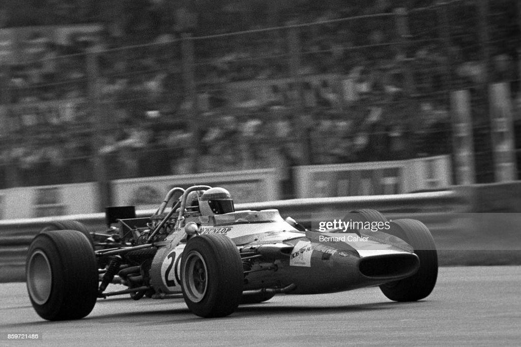 Jackie Stewart At Grand Prix Of Italy : ニュース写真
