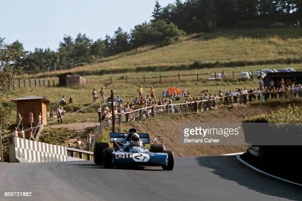 Jackie Stewart TyrrellFord 003 Grand Prix of Germany Nurburgring August 1 1971