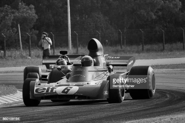 Jackie Stewart TyrrellFord 005 Grand Prix of Argentina Autodromo Juan y Oscar Galvez Buenos Aires January 28 1973