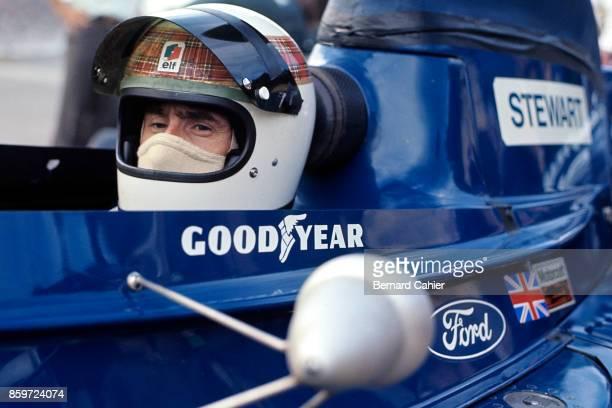 Jackie Stewart TyrrellFord 005 Grand Prix of Brazil Interlagos February 11 1973