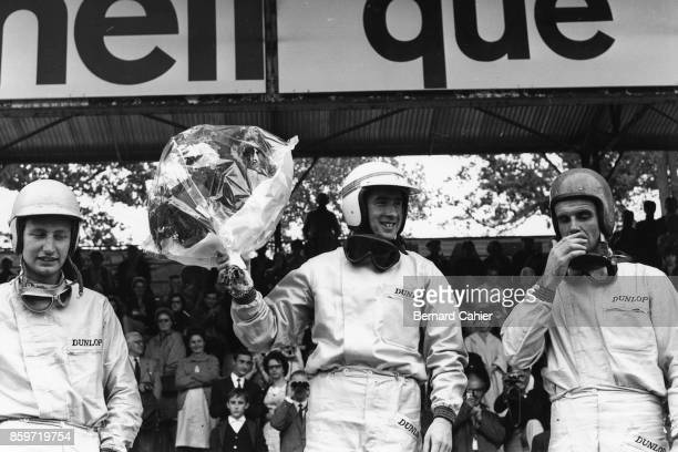 Jackie Stewart Warwick Banks Bill Bradley French Grand Prix Formula 3 Support race RouenLesEssarts June 28 1964