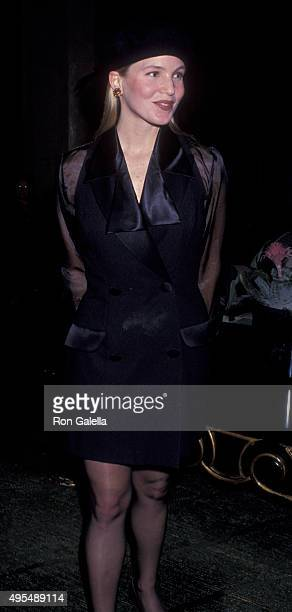 Jackie Swanson attends American Oceans Campaign Benefit Fundraiser on March 24 1993 at the Beverly Hilton Hotel in Beverly Hills California