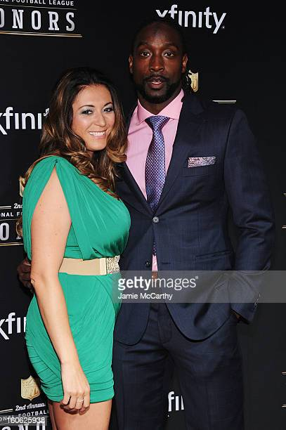 Jackie Tillman and NFL player Charles Tillman attend the 2nd Annual NFL Honors at Mahalia Jackson Theater on February 2 2013 in New Orleans Louisiana