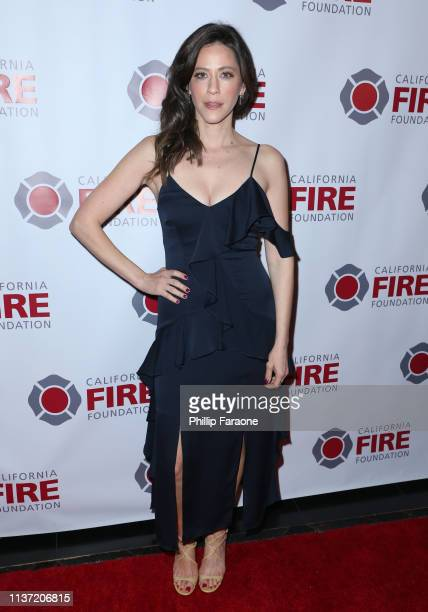 Jackie Tohn attends California Fire Foundation's 6th Annual Gala at Avalon on March 20 2019 in Los Angeles California
