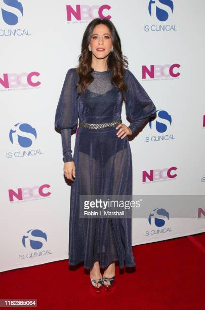 Jackie Tohn attends the National Breast Cancer Coalition's 19th Annual Les Girls at Avalon Hollywood on October 20 2019 in Los Angeles California