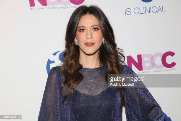 Jackie Tohn attends the National Breast Cancer Coalition's 19th Annual Les Girls at Avalon Hollywood on October 20, 2019 in Los Angeles, California.