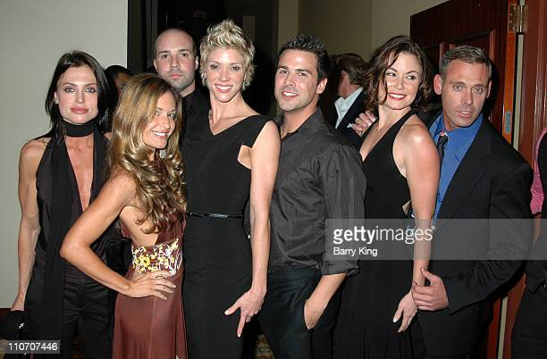 Jackie Warner and Cast of Bravo's Workout during LA Gay Lesbian Center 35th Anniversary Gala Inside at Hyatt Regency Century Plaza Hotel in Century...